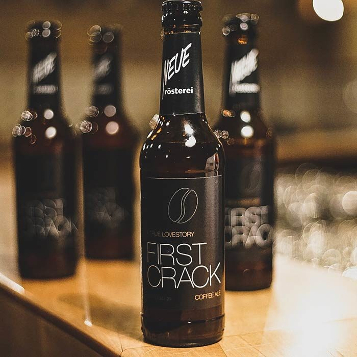 first crack coffee ale craft beer